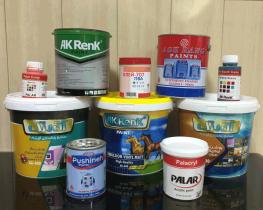 محصولات آق رنگ در پخش رنگ محمدی