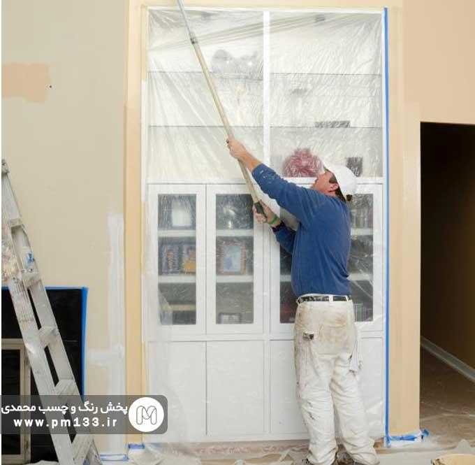 چگونه خانه را سریع رنگ کنیم؟